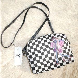 Handbags - Boutique checker Mini Crossbody